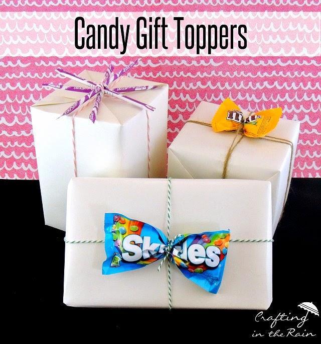 słodki pomysł na opakowanie prezentu:)