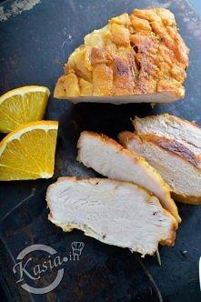 przepis na szynkę gotowaną w pomarańczach