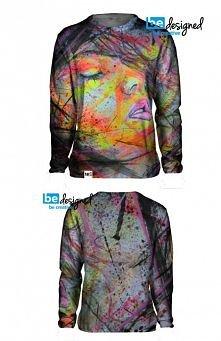 pierwszy projekt bluzy mojego autorstwa co o nim sądzicie czkam na komentarze :) zapraszm na niki4 design na facebook <3