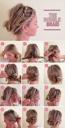 A Simple and Original Hairstyle for Every Day - Long Length Hair & Medium Length Hair