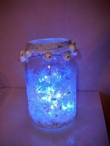 Zimowy lampion