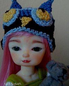 repainted mini hujoo doll