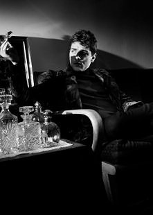 Xavier Dolan, photographed by Hector Perez for Vs. magazine, F/W 2014.