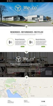 3RE - projekt strony intern...