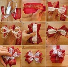świąteczna kokardka :)