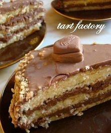 Tort milka  (na dużą tortow...