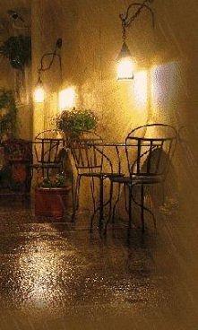 ..deszcz..