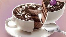 ciasto- filiżanka kawy