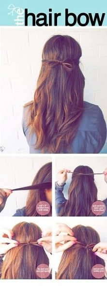 Hairstyle to Work and to School