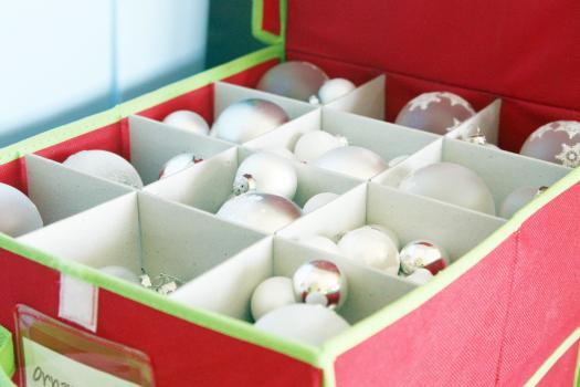 Tydzień 51: Przechowywanie dekoracji / na zorganizowana.com