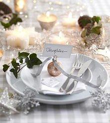 Szukasz pomysłu na dekorację stołu świątecznego? Kliknij - i zobacz kilka pro...