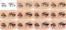 Jak rysować oczy.