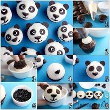 Jak zrobić babeczki panda? ...