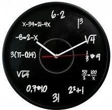zegar idealny dla matematyków ^^