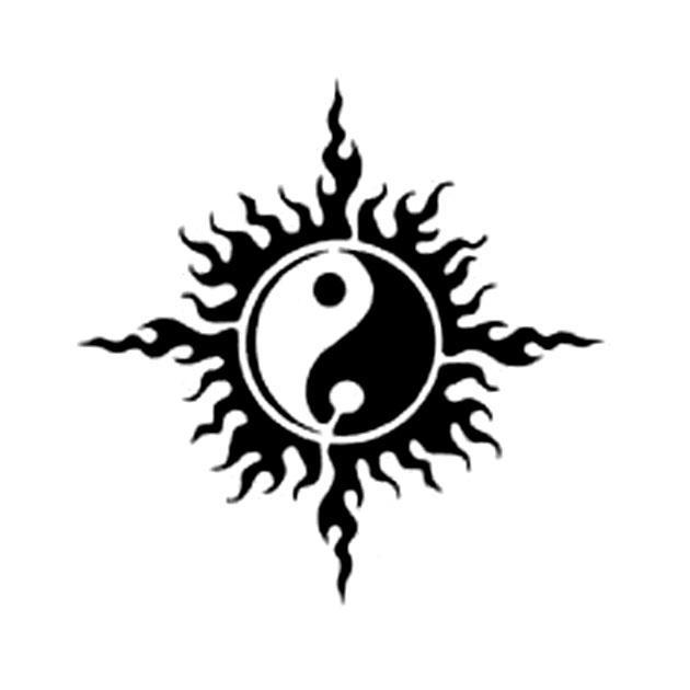 Yin I Yang Na Wzory Tatuaży Zszywkapl