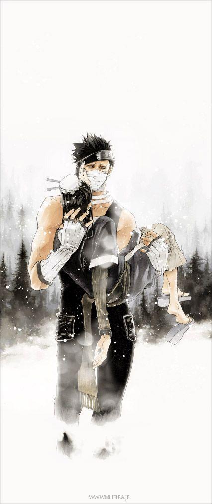 Pierwsze łzy w Naruto ♥