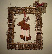 Pomysł na świąteczny stroik;)