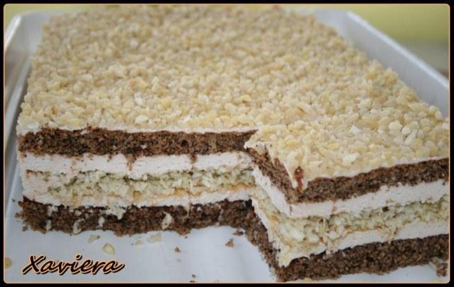 Ciasto Orzechowo Kokosowe Skladniki Ciasto Orzechowe Na