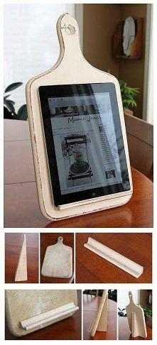 Deska, sztukateria i klej- podstawa pod współczesną książkę kucharską!