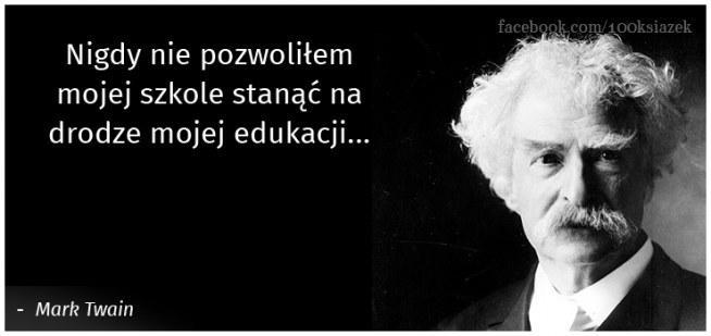 mark twain cytaty Mark Twain na Cytaty i książki   Zszywka.pl mark twain cytaty