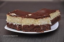 Ciasto bounty Składniki na ciasto: 250g masła 200g cukru 200g mąki pszennej 1...