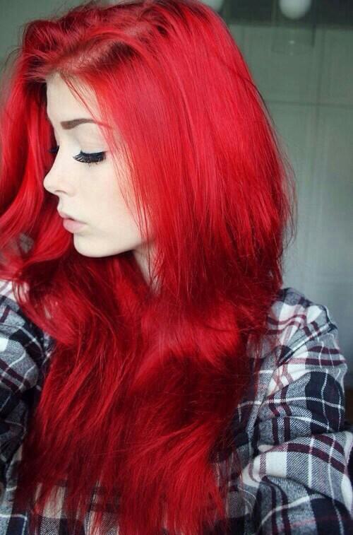 Czerwone Włosy Na Włosy Zszywkapl