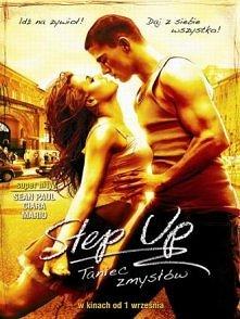""""""" STEP UP """"  Główny bohater Tyler w skutek konfliktu z prawem sąd orzeka jako karę prace społeczne w Akademii Muzyki i Tańca. Zjawia się tam jako gniewny outsider z wi..."""