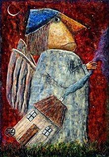 wkurzony anioł