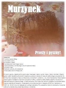 Ciasto Murzynek <3