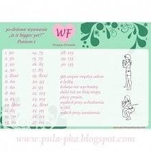 Zapraszam do udziału w projekcie WF - Wstępna Fitnesska! Wyzwanie czeka! <klik w zdjęcie>