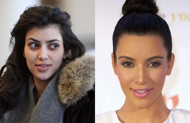 Kim Kardashian bez makija u017cu Jest ró u017cnica, prawda? Zdj u0119cie po na Gwiazdy Zszywka pl
