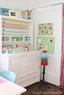 Piękny pokój do szycia