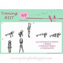 Przykładowy trening HIIT w ramach projektu WF - Wstępna Fitnesska w plikach d...