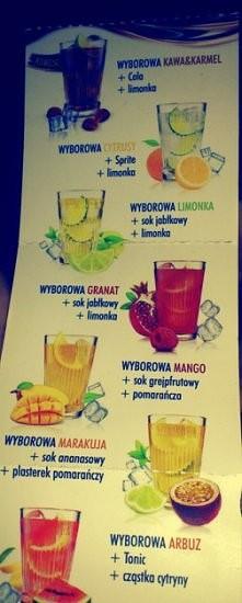 kolorowe drinki. przepisy n...