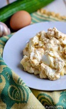Jajka po tatarsku w wersji fit. Zrzucamy kilogramy ! Przepis po kliknięciu. :)