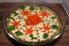 Sałatka warzywna tradycyjna  Sałatka warzywna tradycyjna to jedna z najsmaczniejszych sałatek polskich. Jest to danie bardzo pracochłonne, ale czas spędzony nad nim rekompensuje...