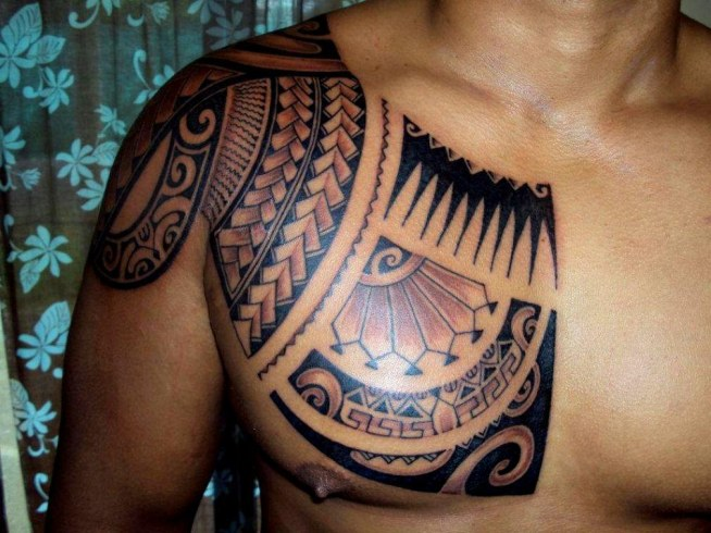 Tatuaż Na Klatce Piersiowej Na Tatuaże Zszywkapl