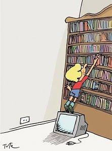 Do czego czasami może przydać się telewizor ;-)
