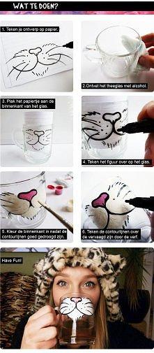 Geniałny pomysł na szklankę...