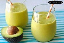 Zielony koktajl z avocado  ...