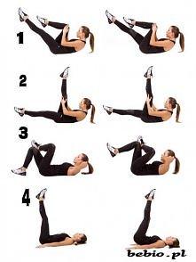 Ćwiczenia na brzuch (dolna ...