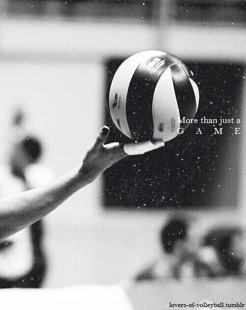 More than volleyball.More than passion.