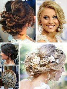 Inspirujące fryzury ślubne!