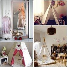 namiot w pokoju dziecięcym :) :)