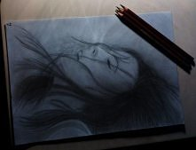 Rysunek ołówkiem.