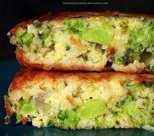 Placuszki z brokułów i kasz...