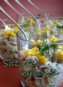 Sałatka ryżowa z szynką ok....