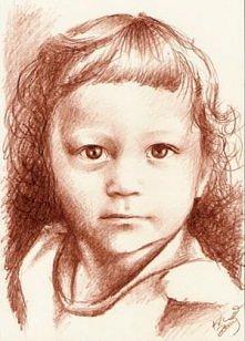 portret w sepii