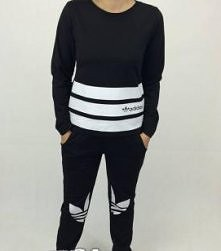 dresik adidas s-m-l 149zł  inspirationbutique@wp.pl kolor czarny szary błękitny i koralowy