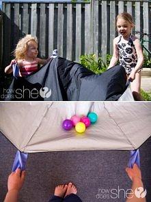 mini klanza z parasola
